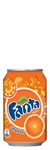 FANTA ORANGE BOITE 33CL