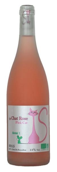 Le chat rosé bio