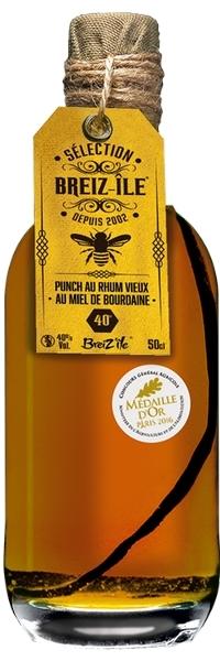 Breiz'île sélection miel de bourdaine